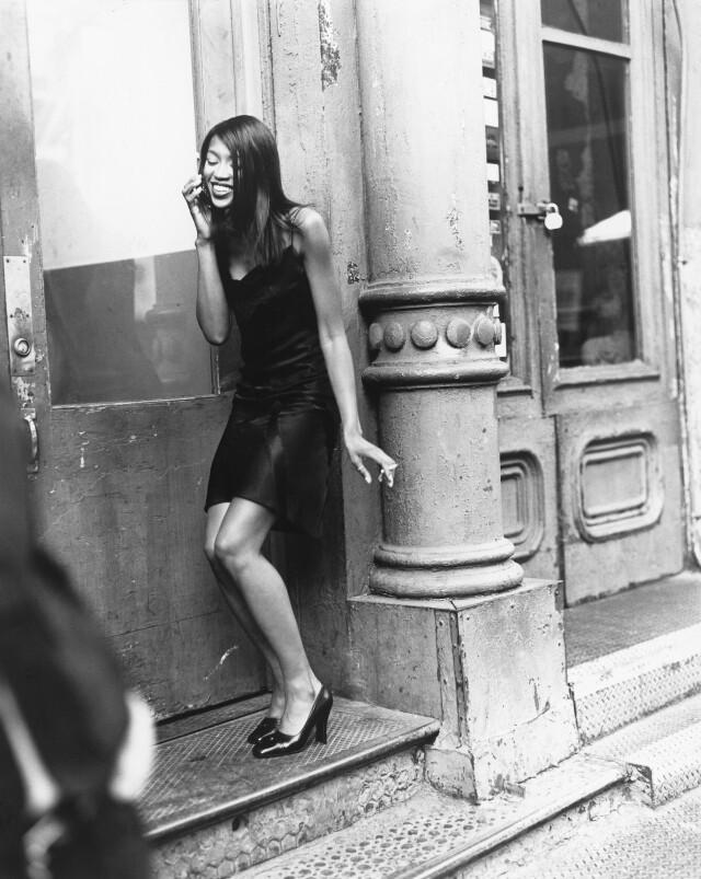 Наоми Кэмпбелл в Нью-Йорке. American Vogue, 1995. Автор Артур Элгорт