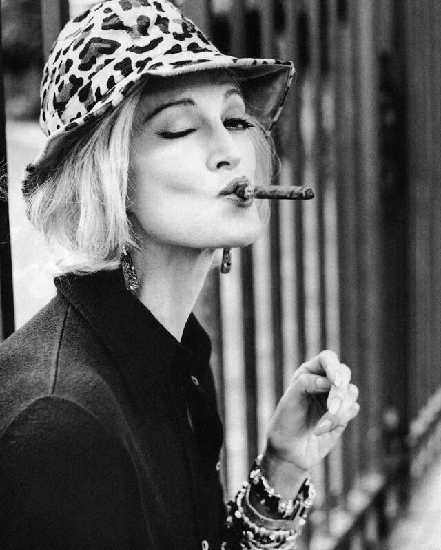 Кармен Делль'Орефиче, Vogue Italia, 1996. Автор Артур Элгорт