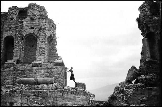 Амфитеатр, Таормина, Сицилия, 1989. Автор Артур Элгорт