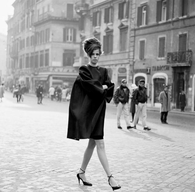 Джени Ховорт, Рим, Vogue Italia, 1989. Автор Артур Элгорт