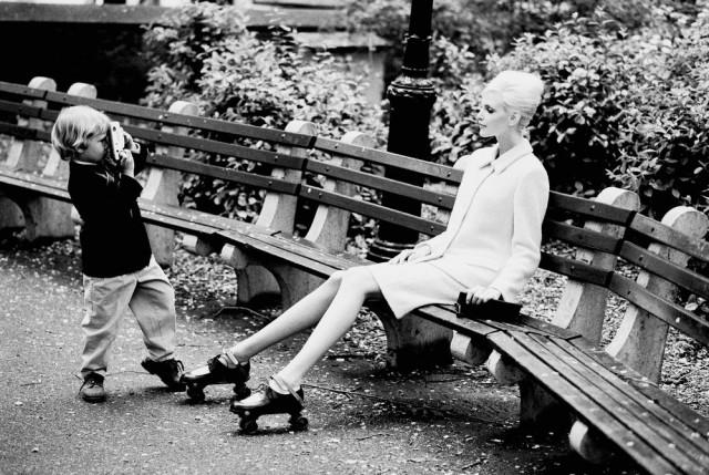Надя Ауэрманн и Уоррен, Нью-Йорк, Vogue, 1995. Автор Артур Элгорт
