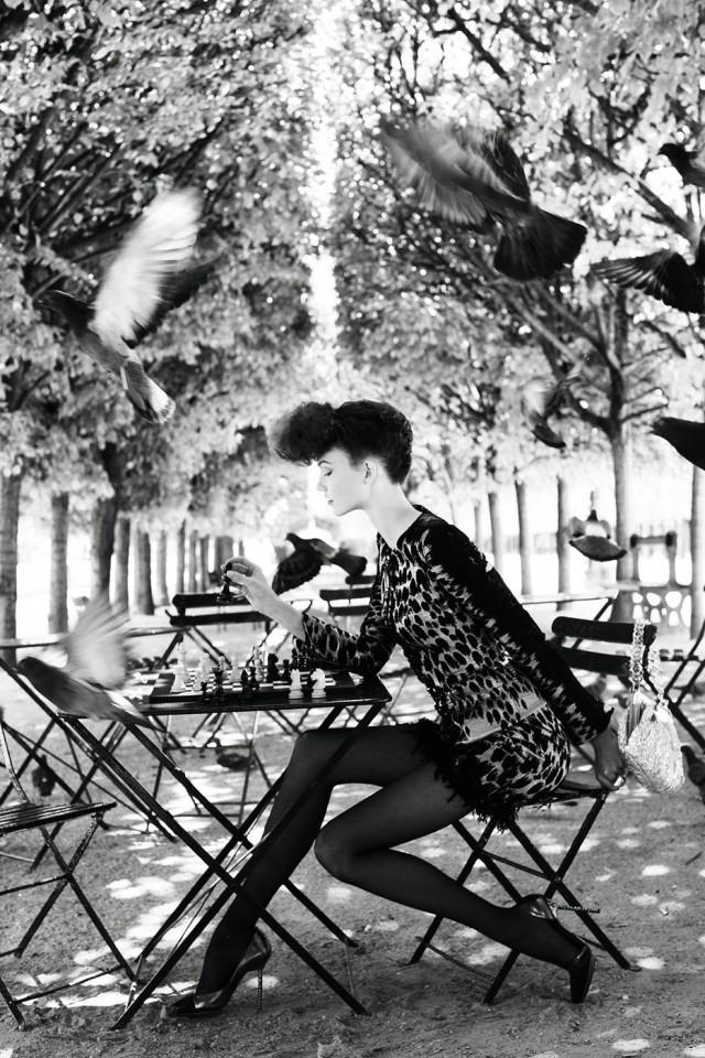 Шахматистка. Автор Артур Элгорт