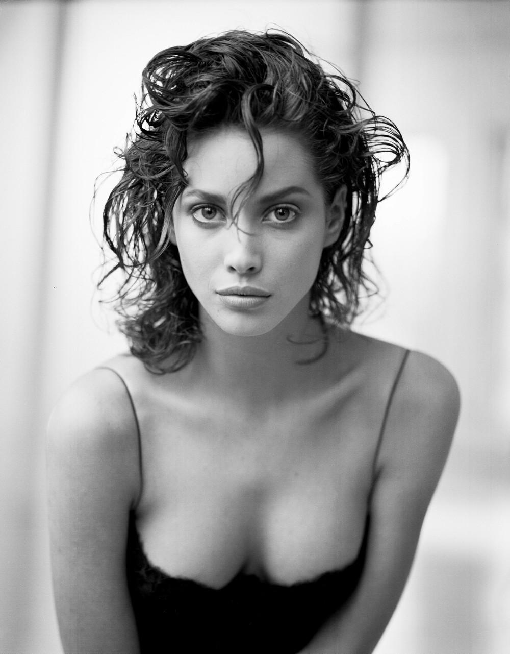 Кристи Тарлингтон, Нью-Йорк, 1987. Автор Артур Элгорт