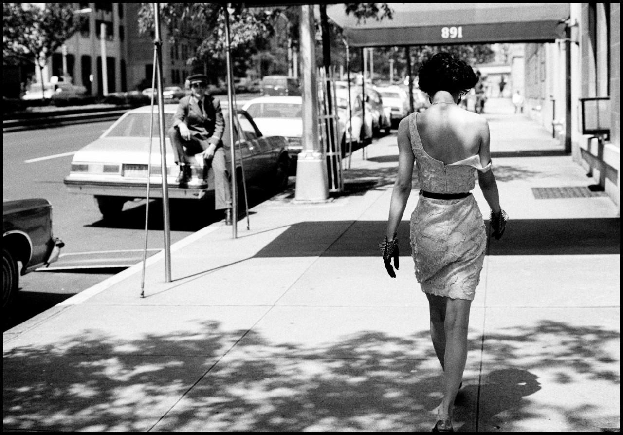 Модель Венди Уайтлоу в Нью-Йорке, 1981. Автор Артур Элгорт