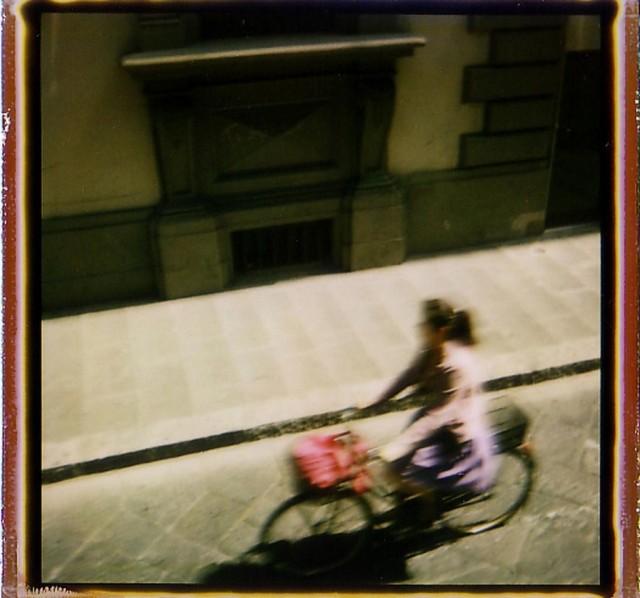 «Велосипедистка». Фотограф Патрик Уинфилд