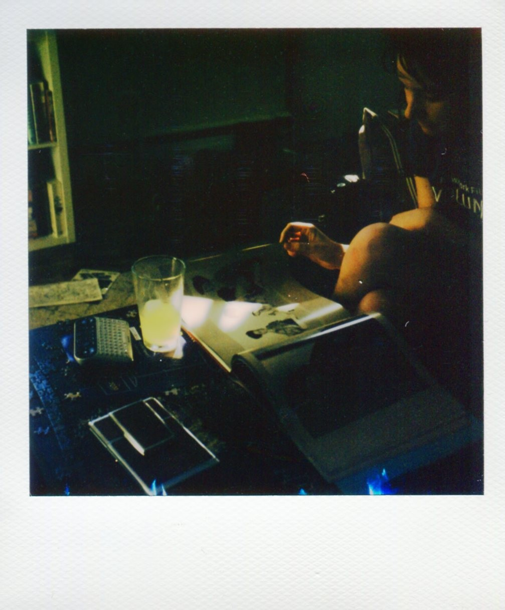 «Луч солнца и стакан сока». Фотограф DC_Polaroid