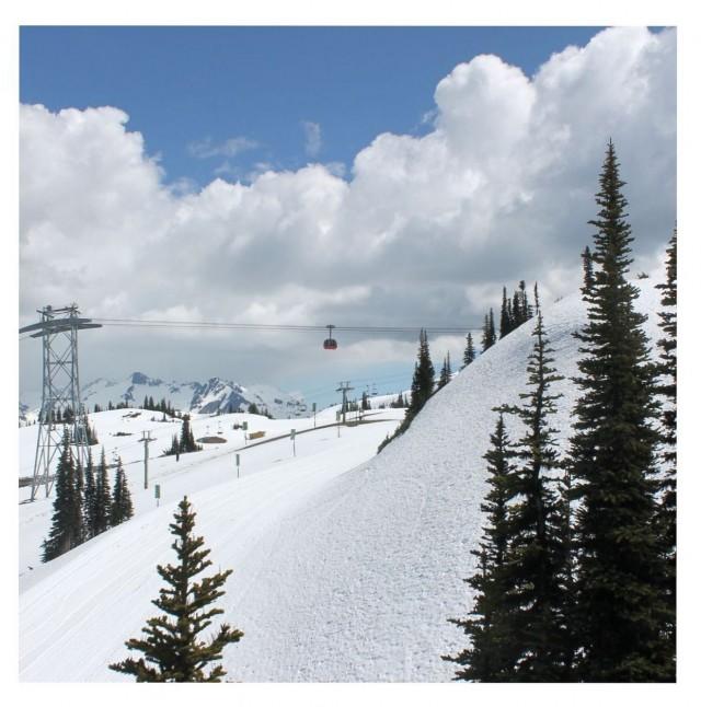 Лыжный курорт Уистлер, Канада. Фотограф globetrottergirls