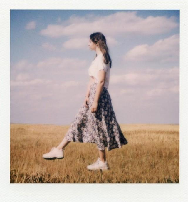 В пшеничном поле. Фотограф Ruben