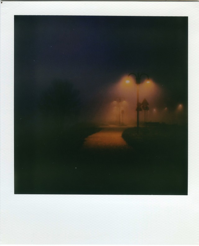 «Ночные фонари». Фотограф Амедео Фонтани