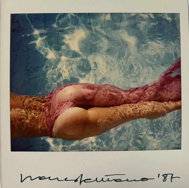 В бассейне, 1987. Фотограф Франко Фонтана