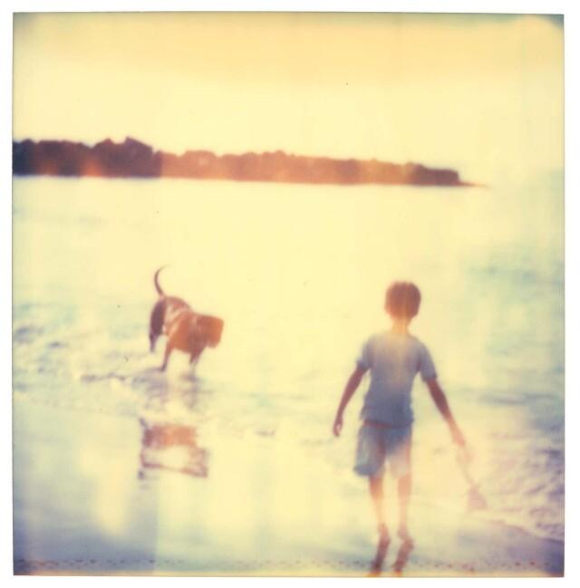 Детские воспоминания. Пляж, океан, собака, 2006. Фотограф Стефани Шнайдер