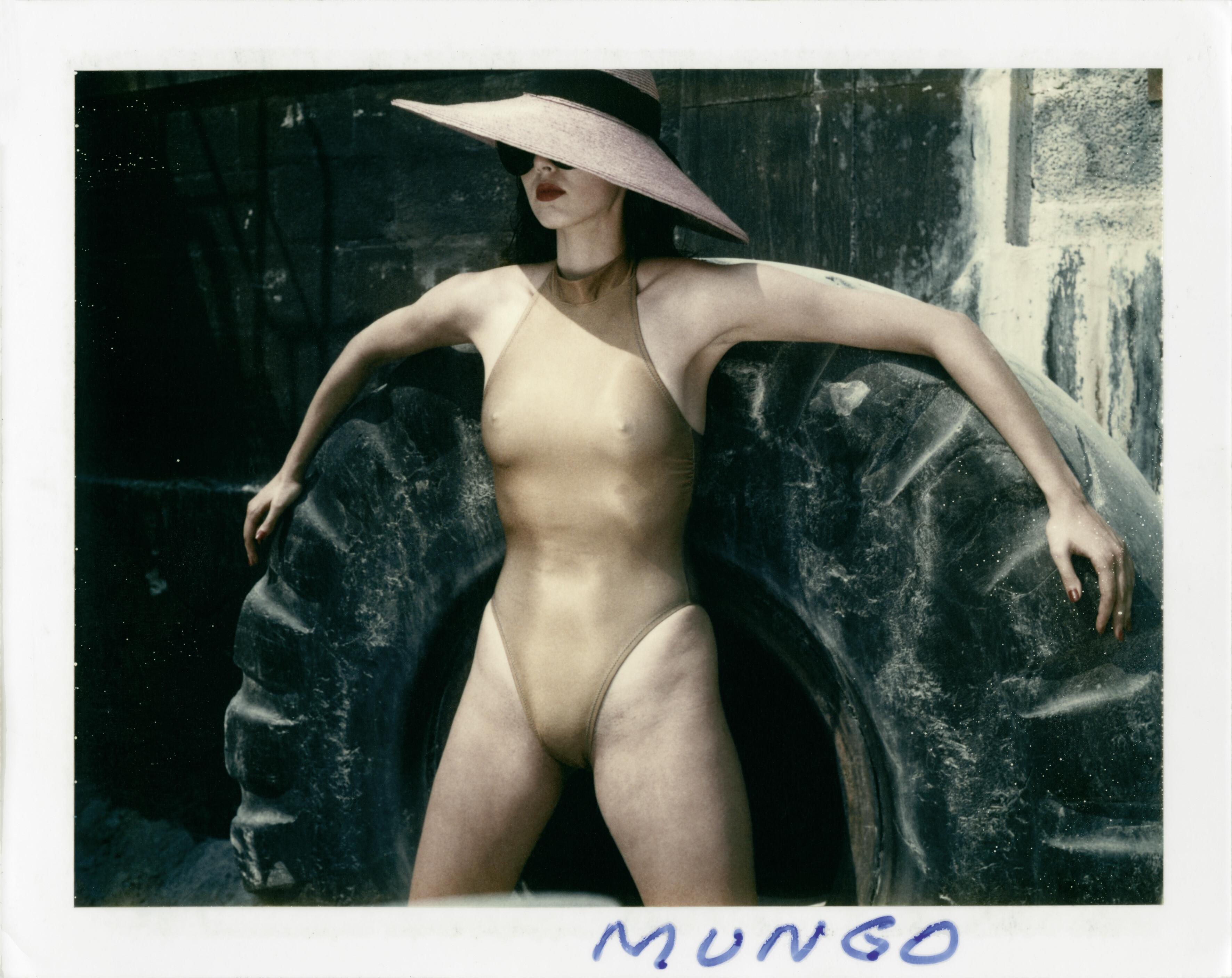 Для Paris Match, 1985. Фотограф Хельмут Ньютон