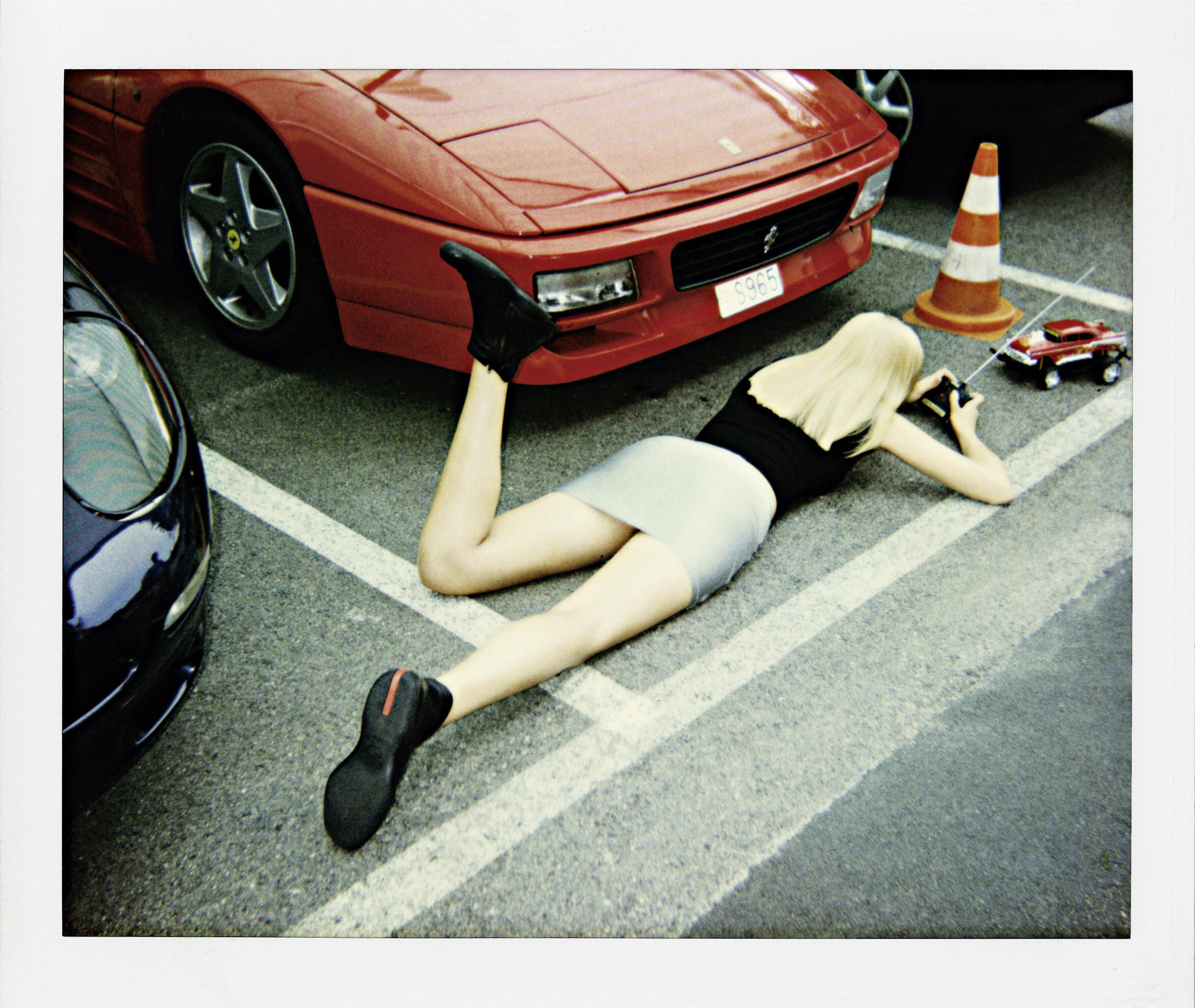 Монте-Карло, для US Vogue, 1998. Фотограф Хельмут Ньютон