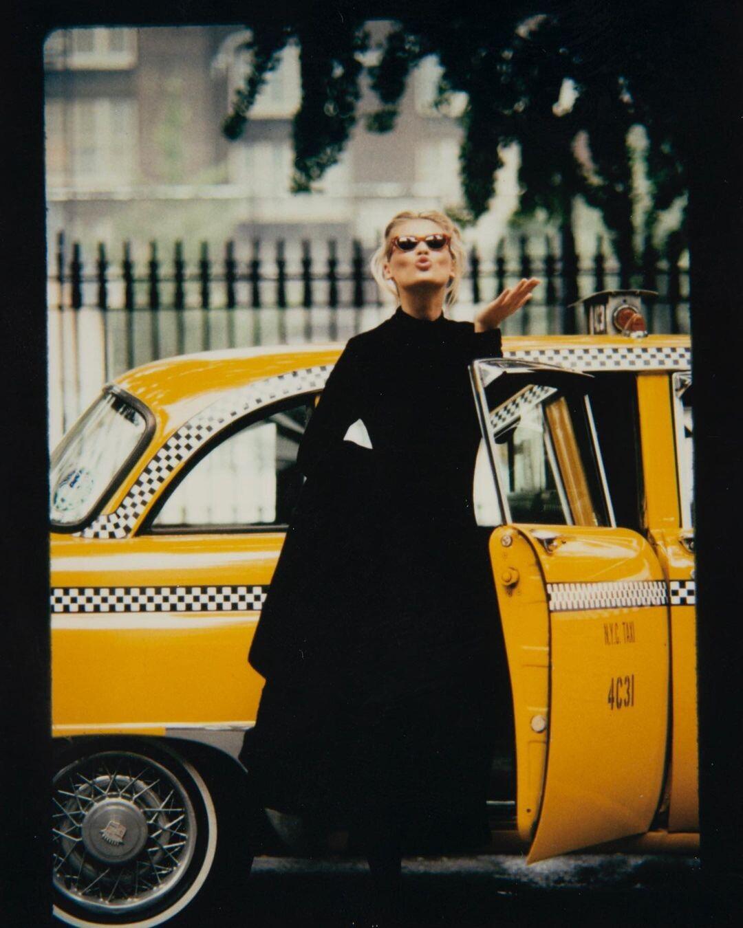 Даниэла Пештова, Нью-Йорк, 1992. Фотограф Марко Главиано