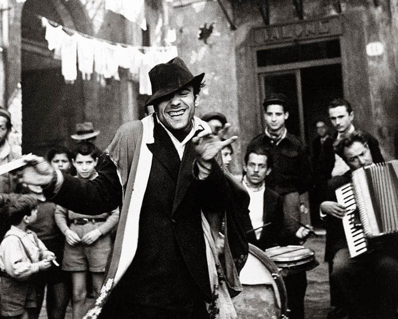 Палермо, Сицилия, 1947. Фотограф Ричард Аведон
