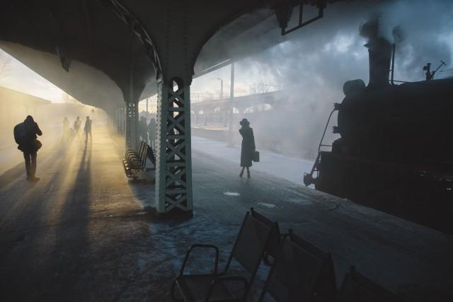 Железнодорожный вокзал. Фотограф Николай Щеголев