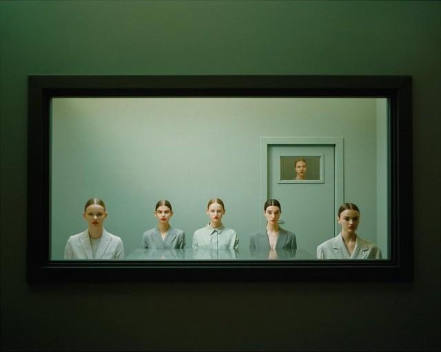 Из серии «Hypnóza» для Vogue. Фотограф Михал Пуделка