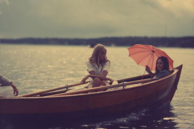 Трое в лодке. Фотограф Калле Густафссон