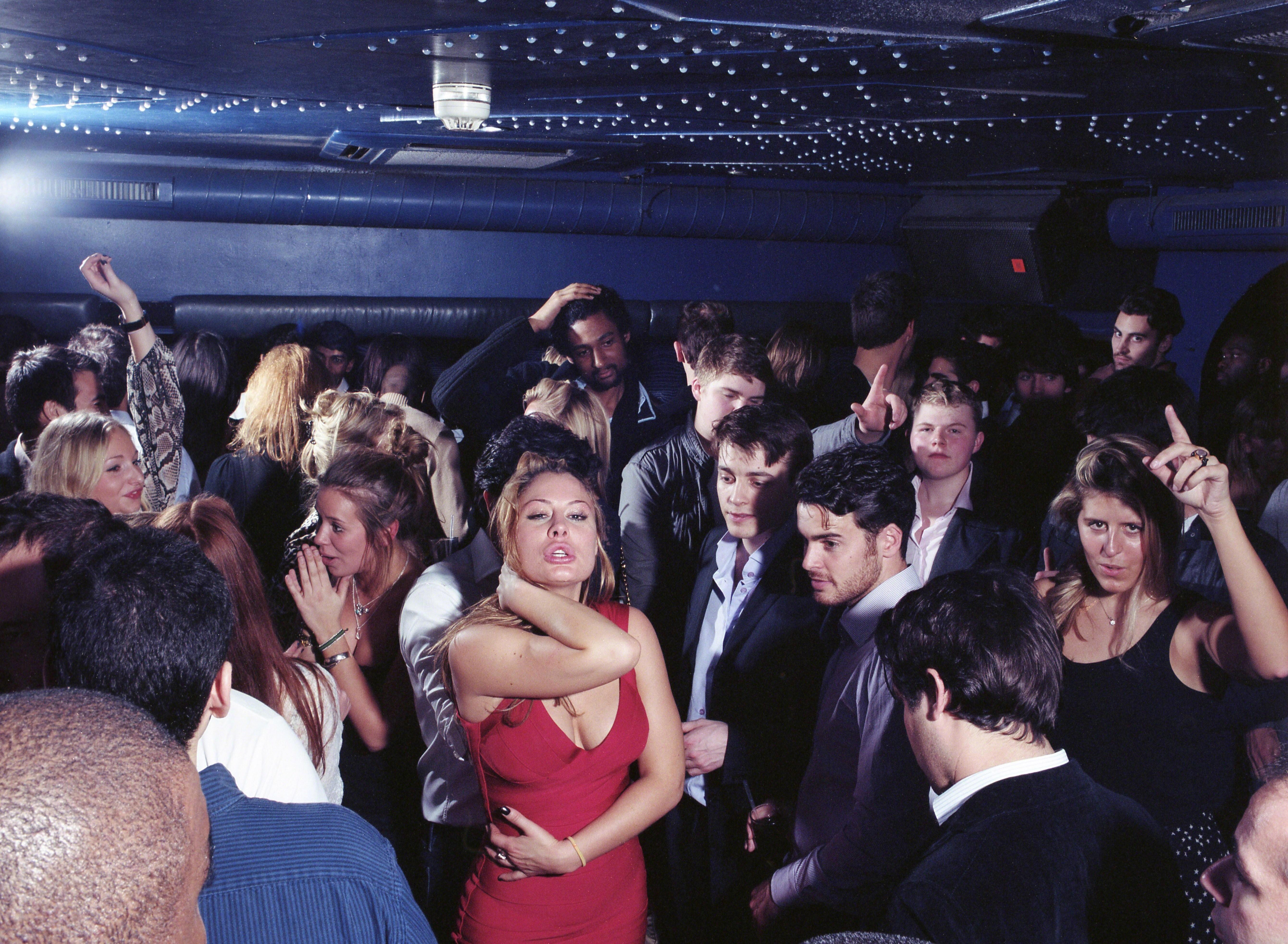 Танцпол в ночном клубе, Южный Кенсингтон, 2011. Фотограф Марк Невилл