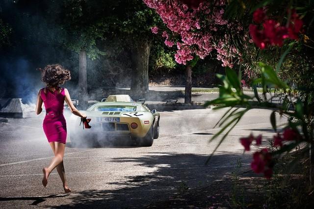 Кабуки и колёса, 2013. Фотограф Дэвид Дребин