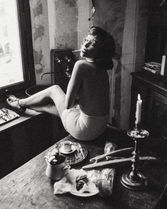 Женский портрет. Фотограф Лиза Трояновская