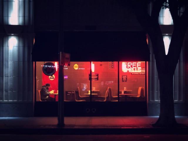Поздний ужин в Лос-Анджелесе. Фотограф japars86