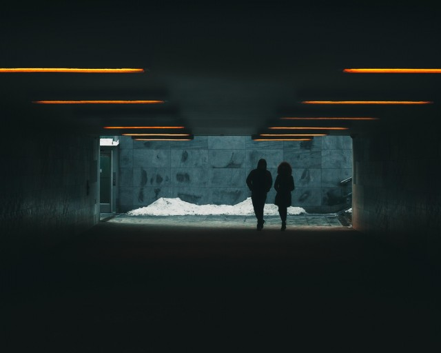 «Свет в конце тоннеля». Фотограф Bembyy