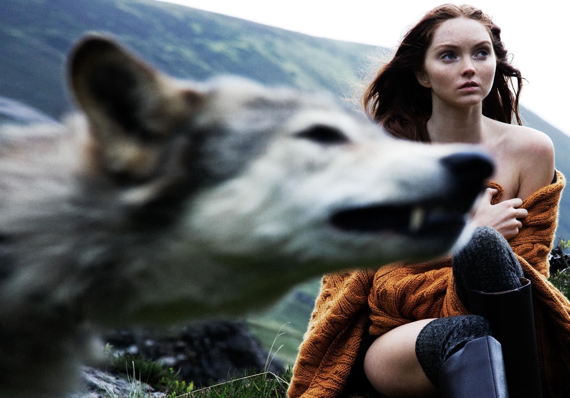 «Сказки высокогорья». Лили Коул, 2010. Фотограф Олаф Випперфюрт