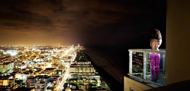 Сверкающий город, 2012. Фотограф Дэвид Дребин