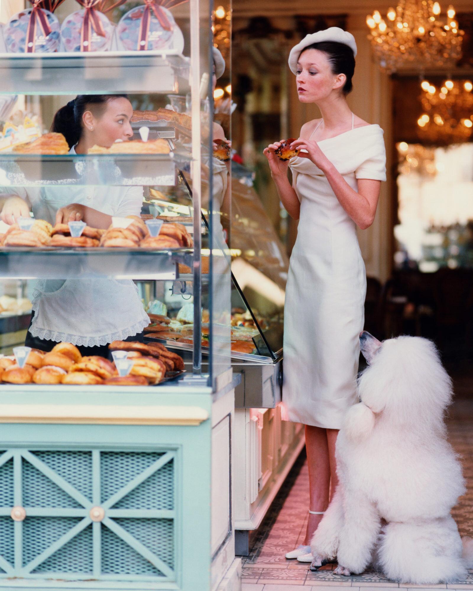Одри Марней в Париже, Vogue, 1999. Фотограф Артур Элгорт