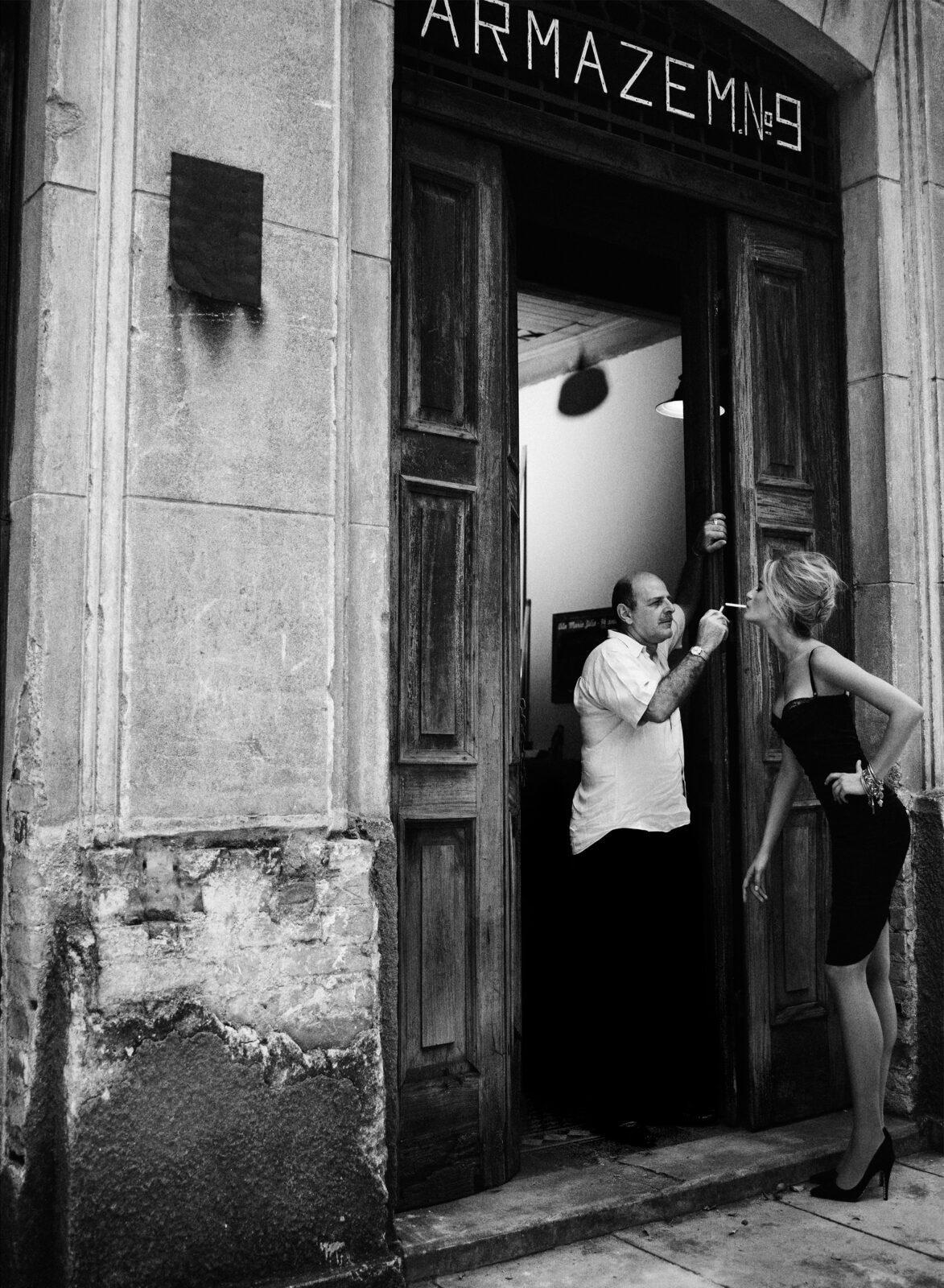 Лорис Кремерх для Elle Brazil, 2012. Фотограф Боб Вулфенсон
