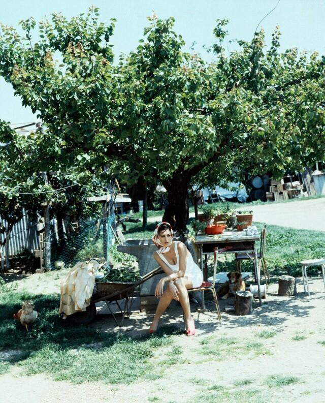 Моника Беллуччи, 1991. Фотограф Фредерик Мейлан