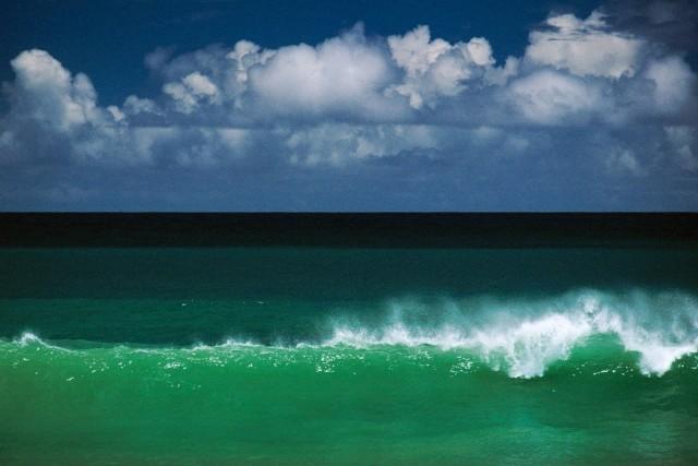 «Волны Тобаго», Карибское море, 1968. Фотограф Эрнст Хаас