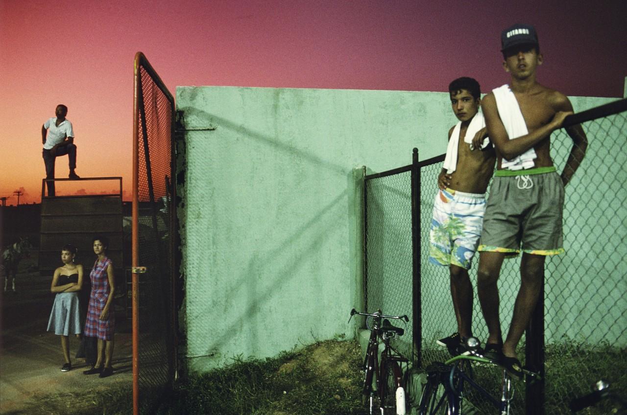 Бейсбольные болельщики, Санкти-Спиритус, Куба, 1993. @ Алекс Уэбб