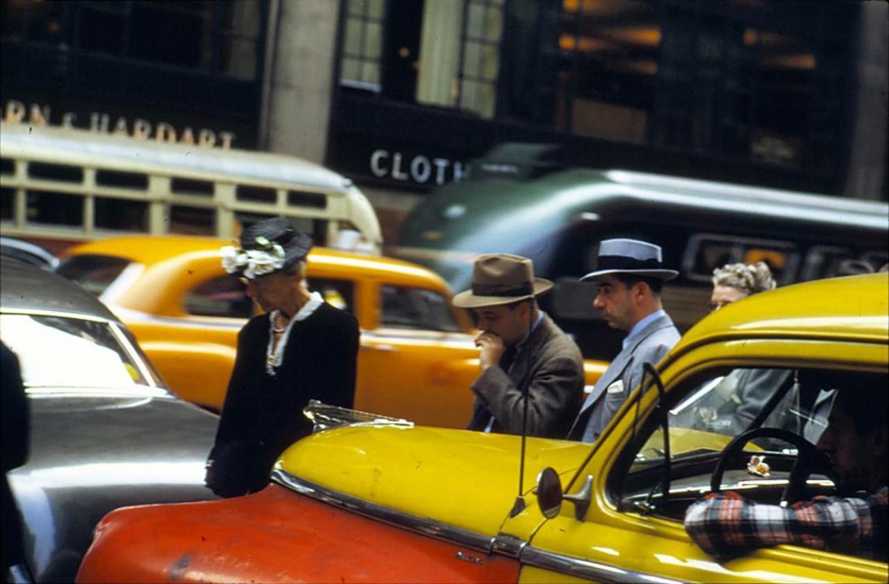 Нью-Йорк, 1953. @ Эрнст Хаас