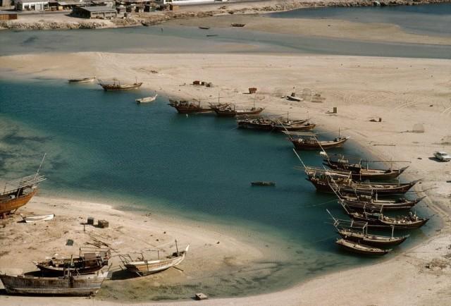 Абу-Даби, 1975. Фотограф неизвестен
