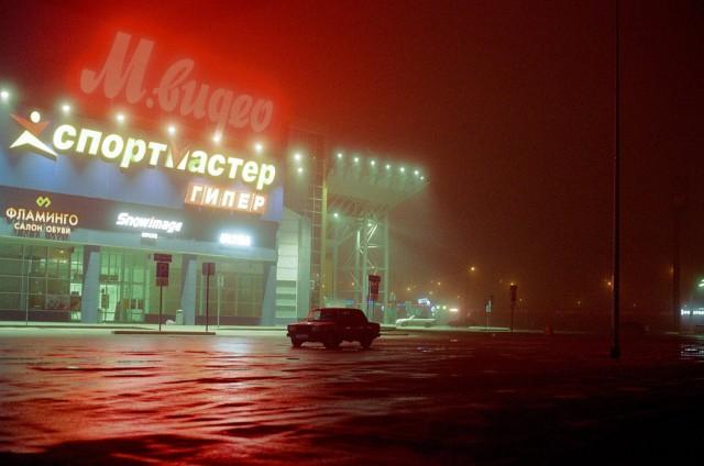 Парковка у торгового центра. Фотограф Артем Сенин (Thommy Senin)