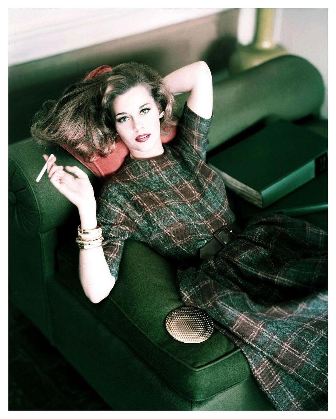 Джейн Фонда, 1959. Фотограф Хорст П. Хорст