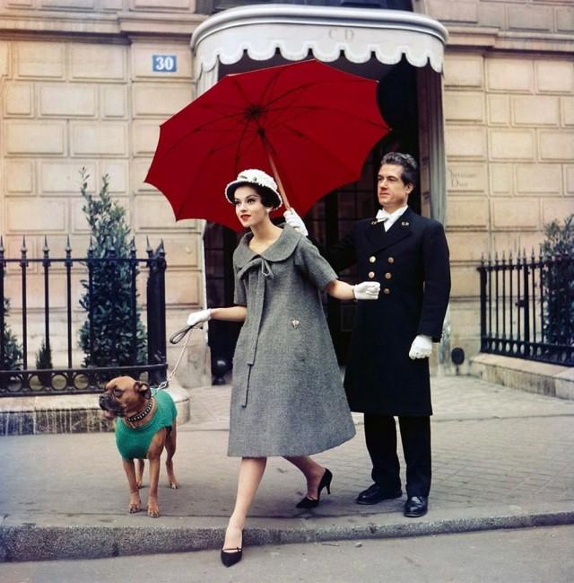 Dior, Париж, 1958. Фотограф Сабина Вайс