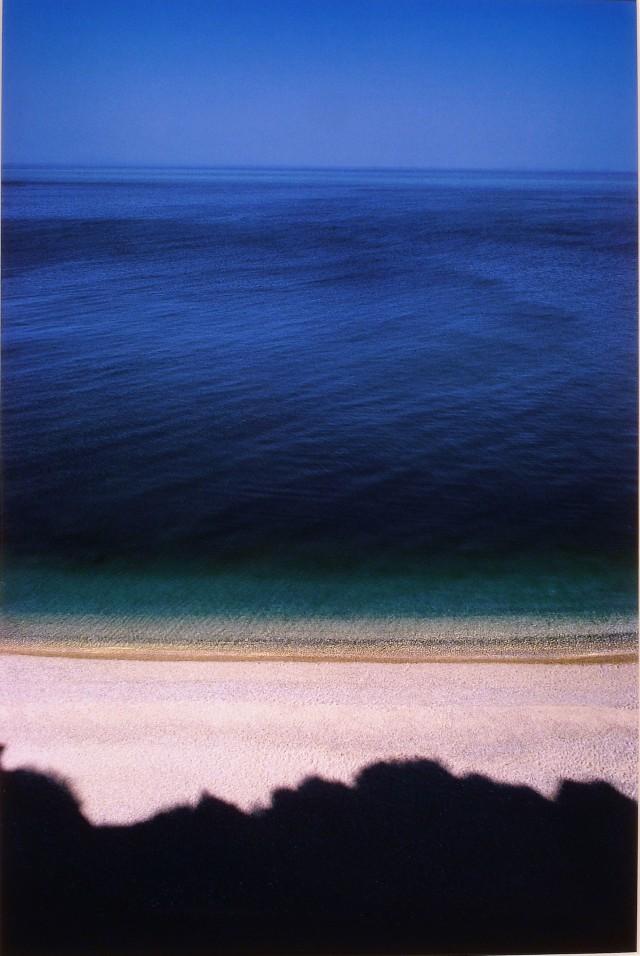 Береговая линия, Апулия, Италия, 1970. Фотограф Франко Фонтана