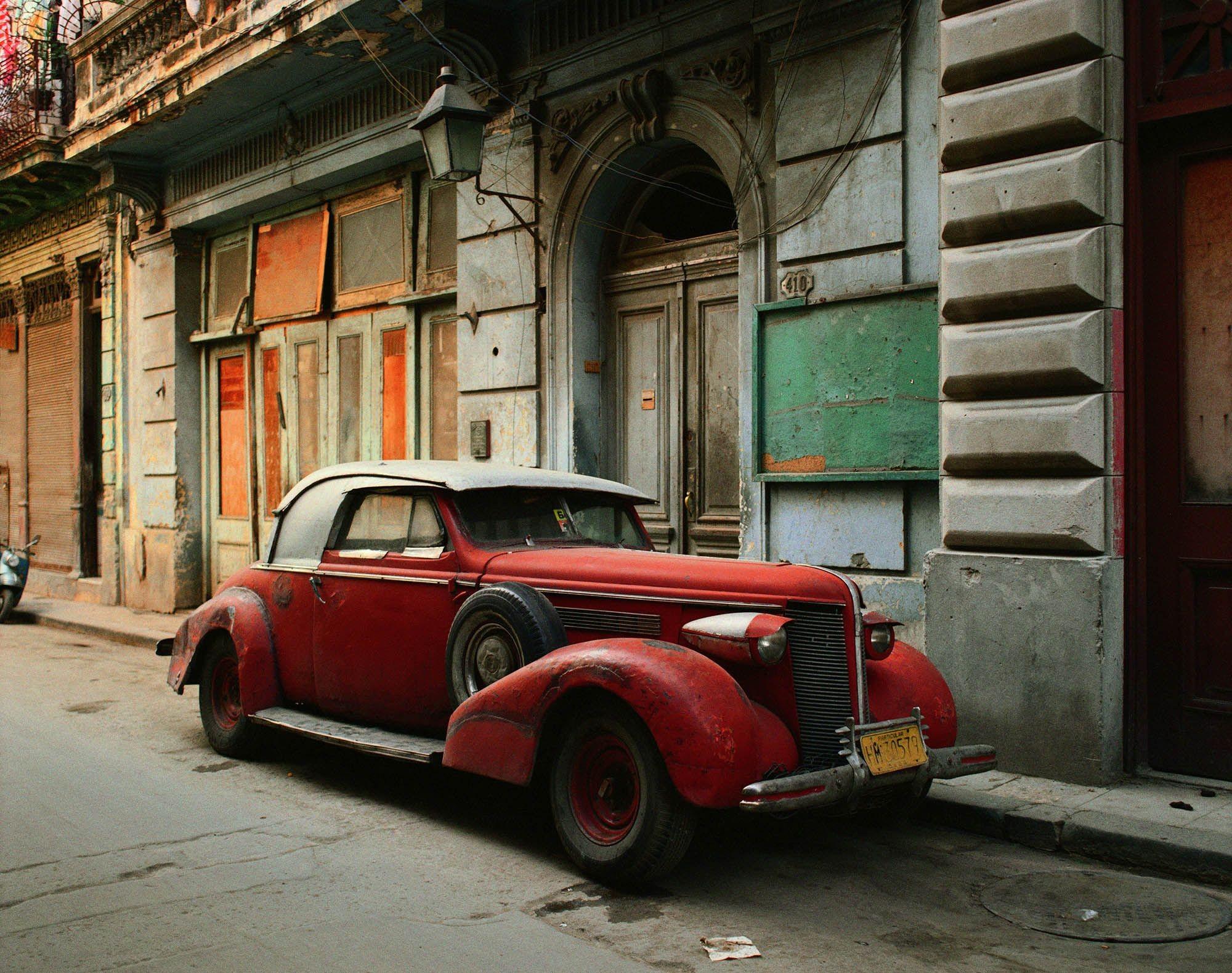 Винтажный автомобиль, Гавана, 1997. Фотограф Роберт Полидори