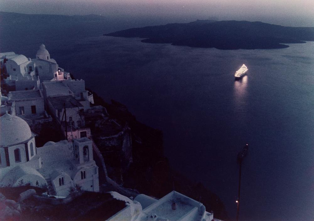 Вид с острова Санторини, 1978. Фотограф Марио Де Бьязи