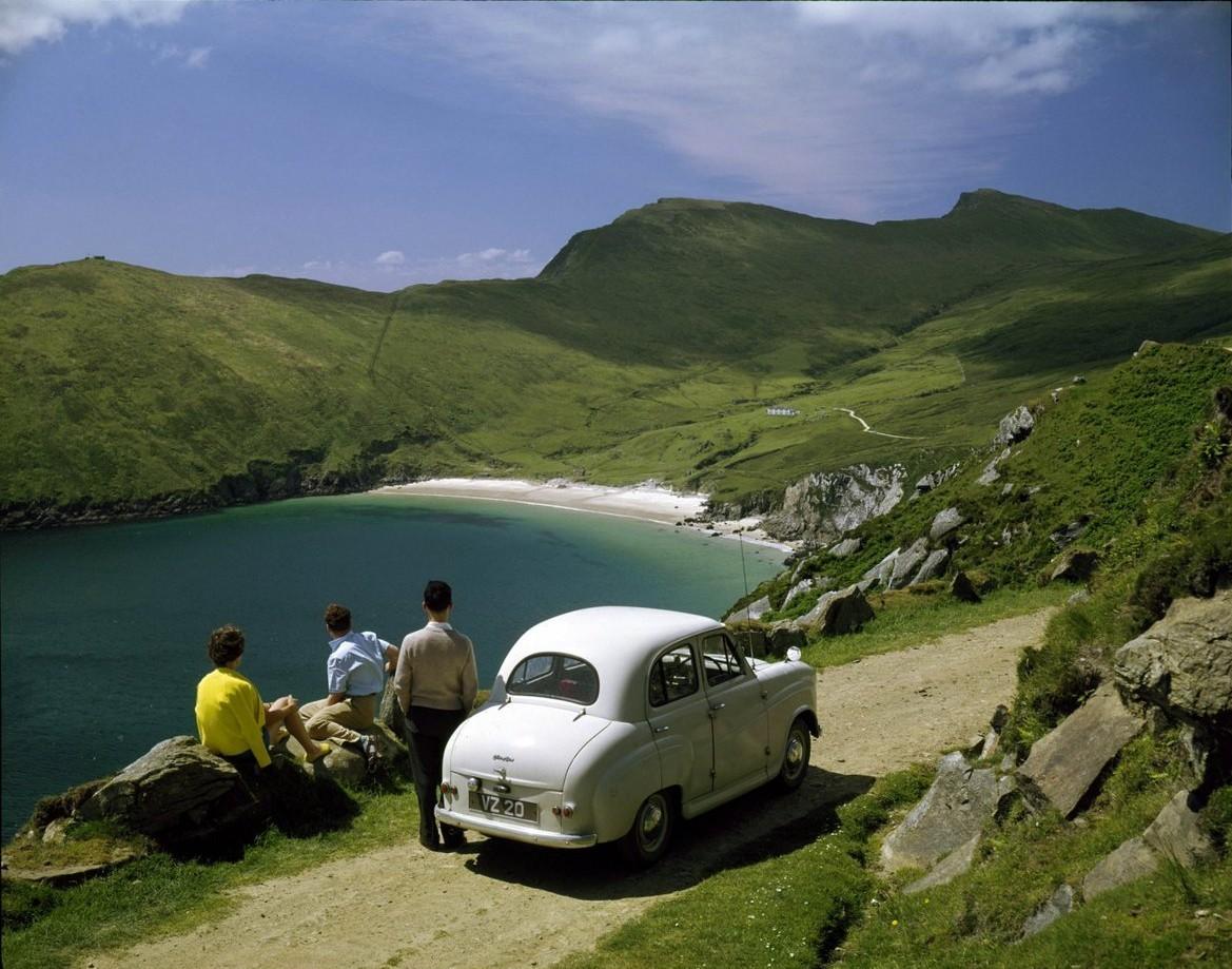 По дороге к пляжу Ким, остров Акилл, Ирландия. Фотограф Джон Хайнд