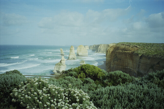 Скалы Двенадцать Апостолов, Австралия, 1997