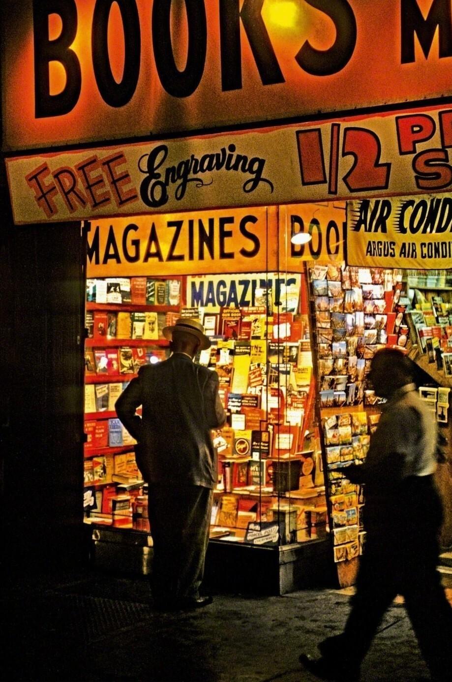 Бродвей, 1954. Фотограф Марвин Э. Ньюман