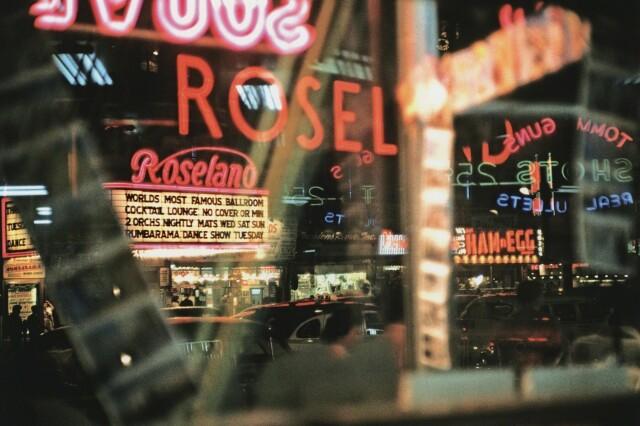 Таймс-сквер, Нью-Йорк, 1954. Фотограф Марвин Э. Ньюман