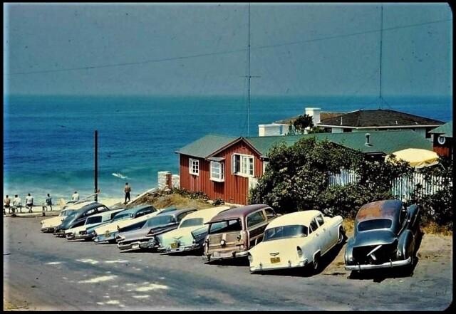 Лагуна Бич, Брукс-стрит, 1962