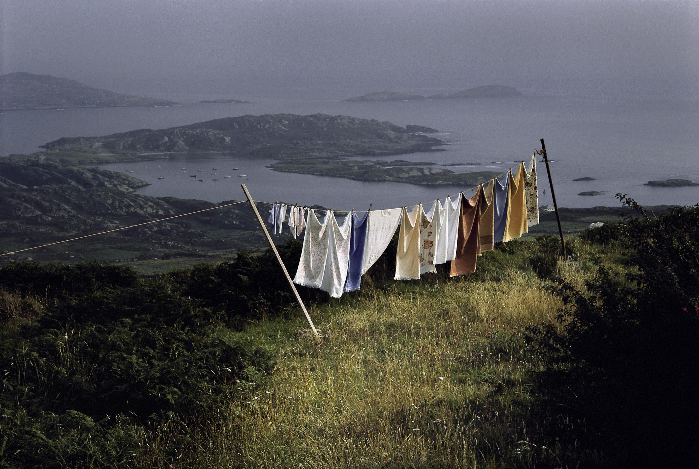 Графство Керри, Ирландия, 1988. Фотограф Гарри Груйер