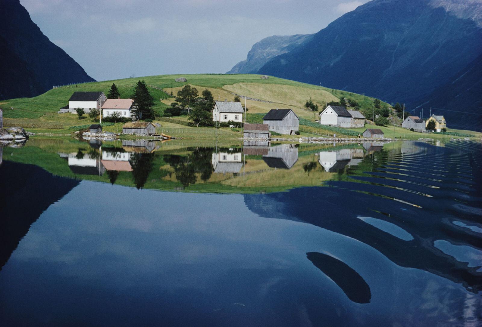 Норвегия, 1959. Фотограф Эрнст Хаас