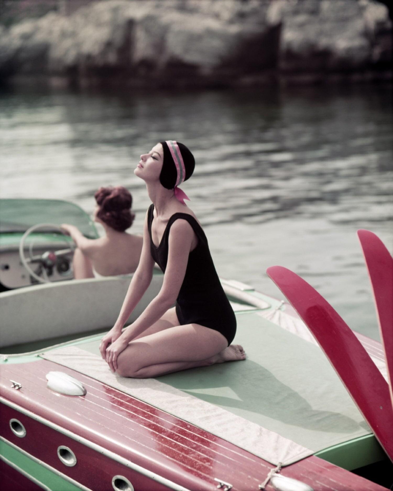 Антиб, 1957. Фотограф Жорж Дамбье